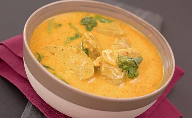 Curry z polędwiczki wieprzowej