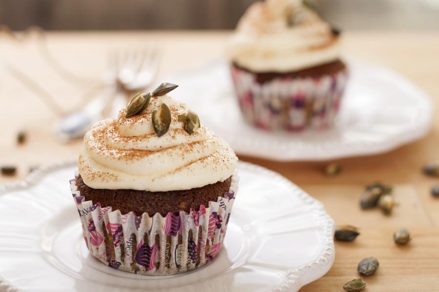 Dyniowe Cupcakes