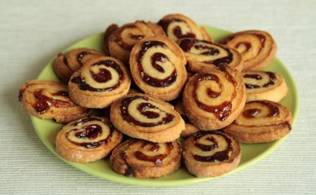 Kruche ciasteczka - spiralki