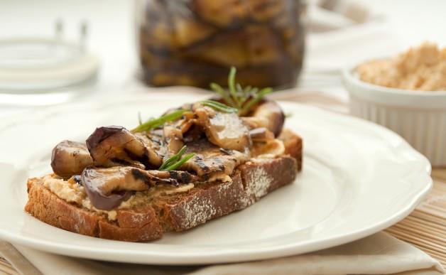 Grillowany bakłażan do kanapek