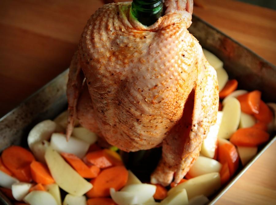 Pieczony Kurczak Na Butelce Z Piwem Foodmag