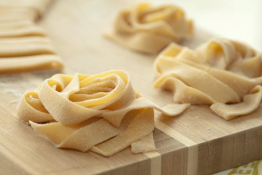 Włoski makaron domowy