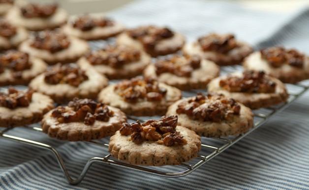 Ciasteczka makowo-orzechowe