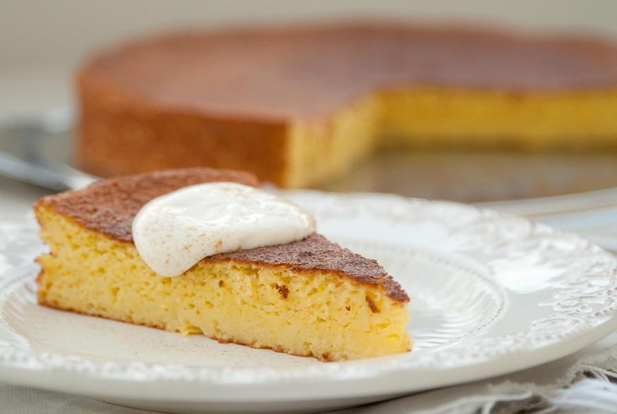 Ciasto z dynią po francusku