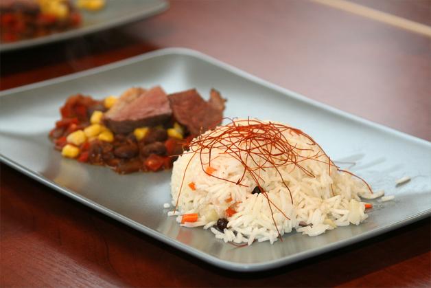 Gęsie piersi z sosem meksykańskim