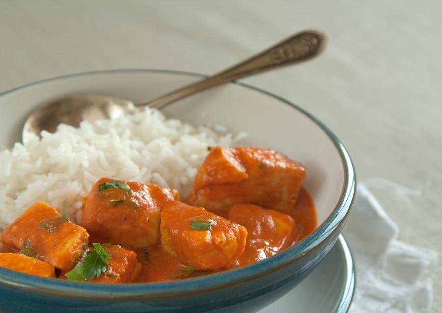 Ryba w sosie pomidorowo-kokosowym