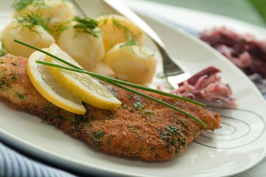 Ryba w ziołowej panierce