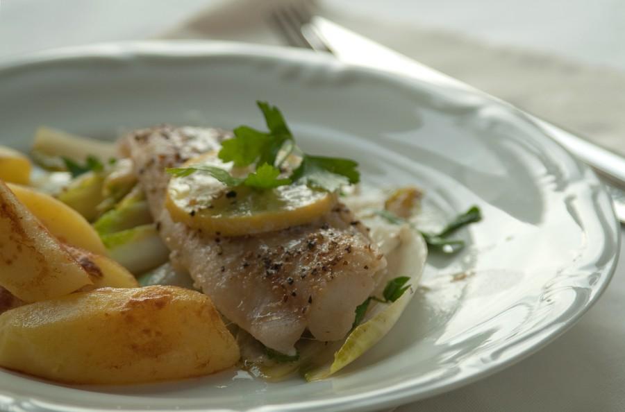 Pieczona ryba z pieprzem