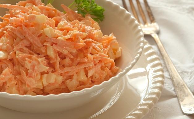 Surówka z marchewki na ostro