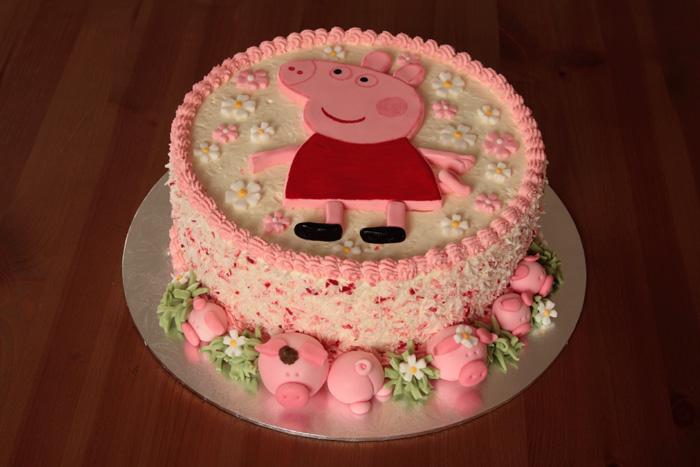 Dekoracje Na Tort Dla Dzieci świnki