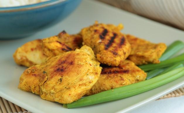 Kurczak z grilla po tajsku