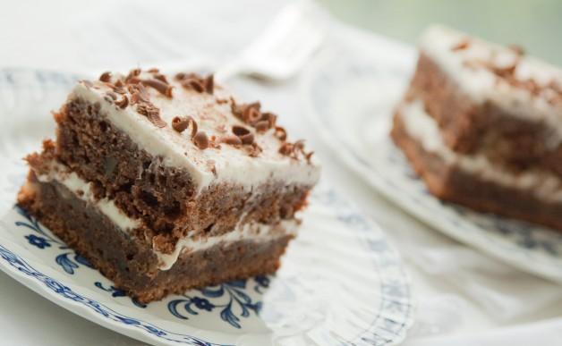 Ciasto czekoladowo-bananowe
