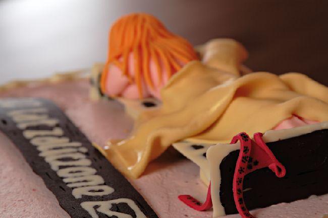 Tort truskawkowy w stylu angielskim