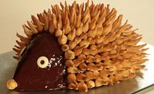 Tort jeż - czekoladowy