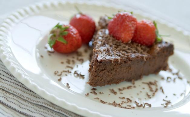 Czekoladowe ciasto truflowe