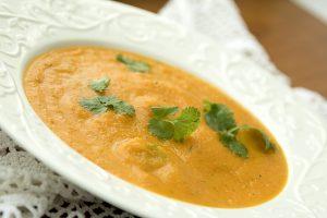Angielska zupa z marchwi i kolendry czyli carrot and coriander