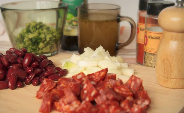 Rozgrzewająca Zupa z Chorizo