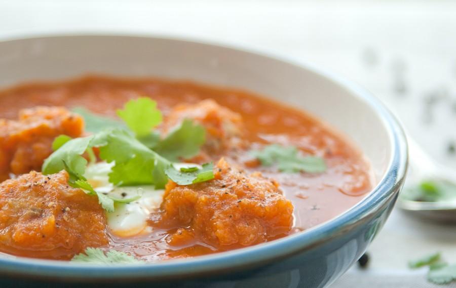 Pożywna zupa z pulpecikami